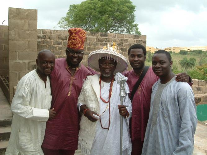 Uncle Dele,Modu,Kabiyesi,Me and Mobolawa